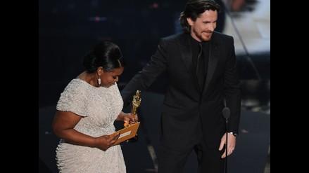 Oscar 2012: Octavia Spencer se quiebra al recibir el codiciado premio