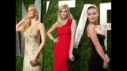 Las mujeres más bellas que deslumbraron en la fiesta post Oscar 2012
