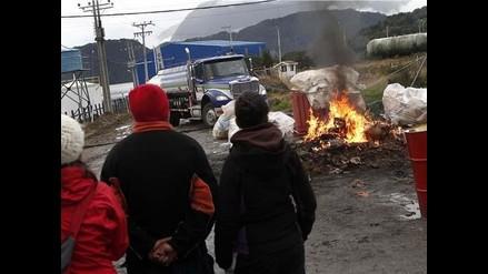 Chile: Se registran nuevas jornadas de enfrentamiento en el sur