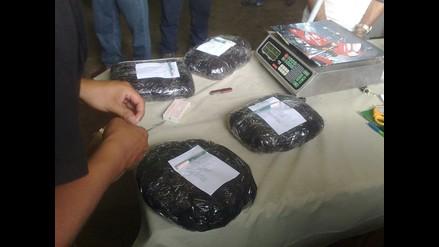 Cusco: Decomisan 40 kilos de droga camuflada en baldes de limones