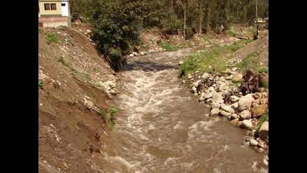Indeci trabaja en riberas del río Chumbao en Andahuaylas