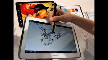 Presentan la nueva tableta de Samsung: ´Galaxy Note 10.1´