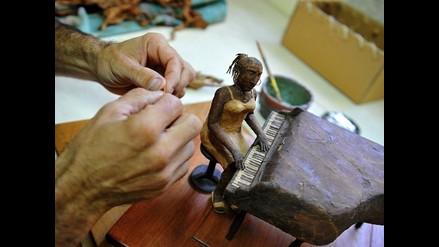 Janio Nuñez y sus impresionantes esculturas de tabaco cubano