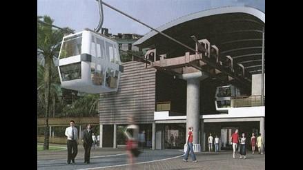Primer teleférico de Lima se construirá en el Cerro San Cristóbal
