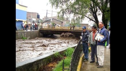 Pobladores temen desborde de río Chumbao en Talavera y Andahuaylas