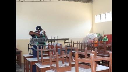 Piura: Fumigarán 54 colegios en el distrito de La Arena