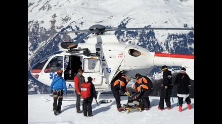 Un día con rescatistas de Los Alpes Franceses