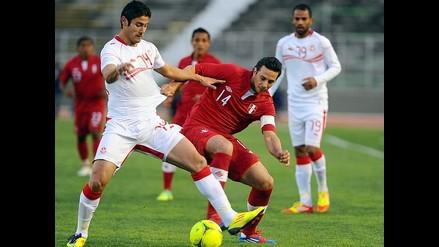 Selección peruana empató 1-1 en su visita a Túnez