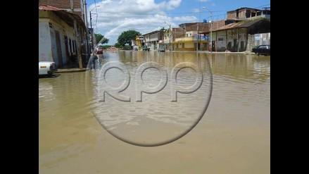 Lluvias incrementan caudal del río Tumbes