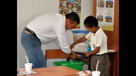 Niño recordó al presidente Humala lavarse las manos antes de comer