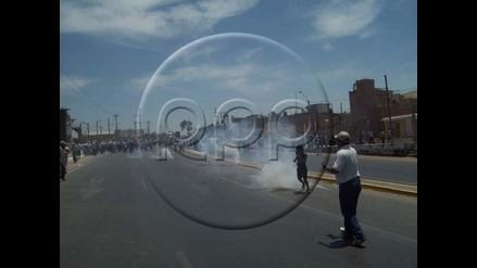 Pisco: Dos manifestantes y un policía heridos en paro algodonero