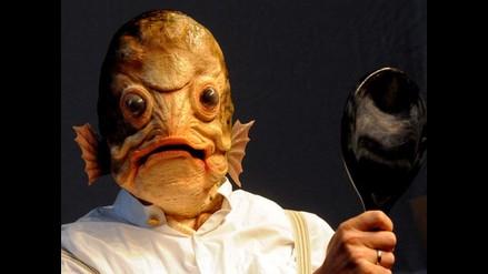 Imaginación, arte y diseño: Un tenor se transforma en pez en Alemania
