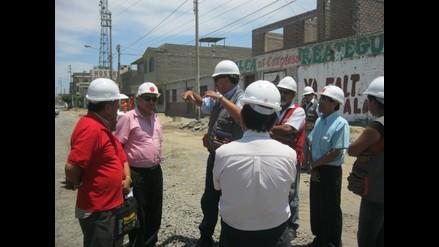 Chimbote: Ingenieros inspeccionan por cuarta vez obra de avenida Pardo
