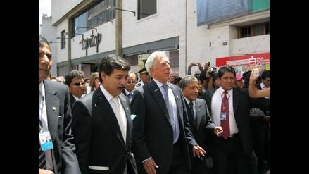 Mario Vargas Llosa llegará a Arequipa el 28 de marzo