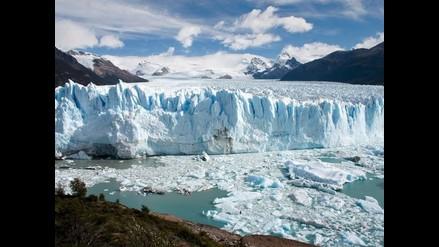 El imponente glaciar Perito Moreno empezó a romperse