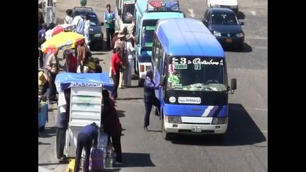Arequipa: Transportistas anuncian que no subirán el pasaje urbano