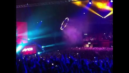 Treinta heridos al derrumbarse tribuna durante un concierto en Suecia