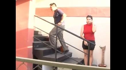 Giuliana Llamoja retornó a su casa tras estar en la clandestinidad