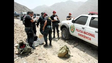 Huarochirí: Suspenden rescate por altos riesgos de accidente en socavón