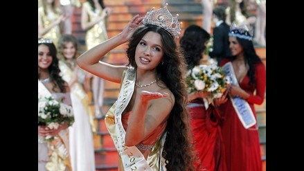 Bella Elizaveta Golovánova se quedó con la corona del Miss Rusia 2012