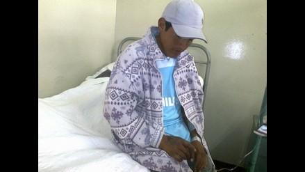 Puno: Internan en hospital a joven por picadura de araña