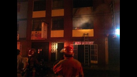 Incendio en San Luis causa leves estragos
