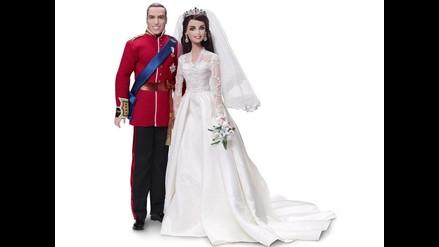 Mattel lanzará muñecos de Kate Middleton y el príncipe Guillermo