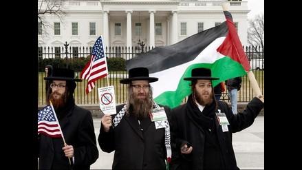 Protestas por reunión entre Barack Obama y primer ministro de Israel