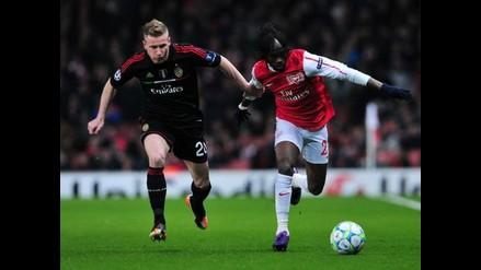 Incidencias del vibrante duelo Arsenal vs Milan por Liga de Campeones