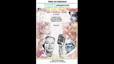 Buscando la nueva voz del criollismo 2012