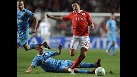 Vea la mejores fotos del triunfo del Benfica sobre el Zenit