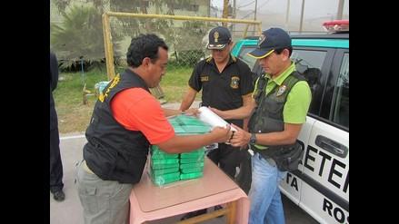 Policía decomisa 100 kilos de droga en Ancón
