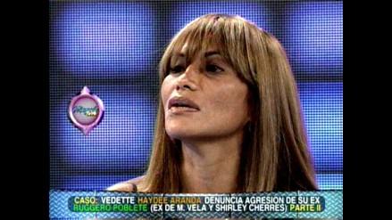 Haydée Aranda insiste en que fue masacrada por Ruggero Poblete