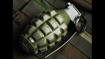 Arequipa: Hallan granada de guerra entre dos locales de Cerro Colorado