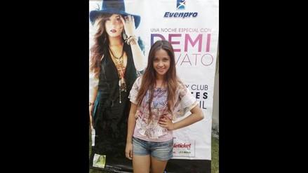 Shirley de ´Al fondo hay sitio´ asistirá a concierto de Demi Lovato