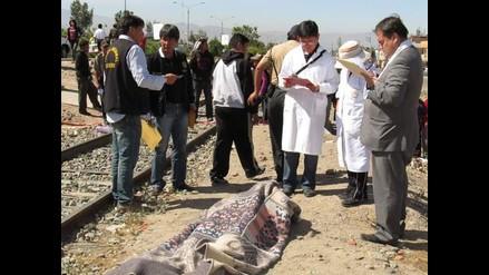Arequipa: Hallan cadáver de hombre en Variante de Uchumayo