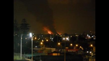 ¿Qué tan grave fue la contaminación ambiental tras incendio en Breña?