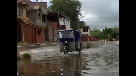 Autoridades actúan para controlar daños tras lluvias en Arequipa