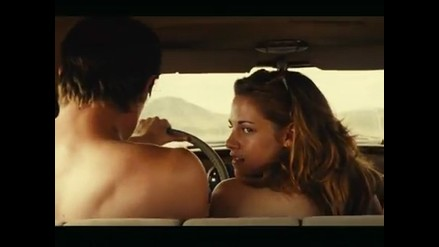 Kristen Stewart hizo topless para la cinta ´On the road´