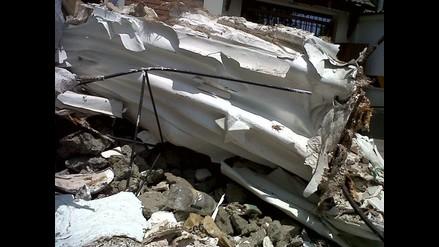 Imagen de la Virgen de Fátima amaneció destruida en Miraflores