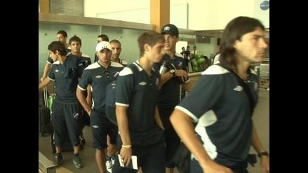 Nacional uruguayo llegó a Lima con gran expectativa de vencer a Alianza