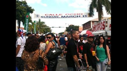 Carnaval de la Calle Ocho puso a bailar a cientos de latinos en Miami