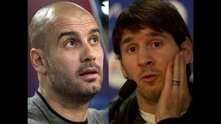 Lionel Messi: Yo soy menos importante que Guardiola en el Barcelona