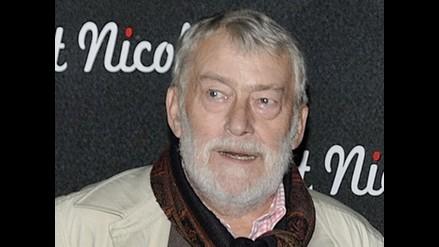 Murió actor francés Michel Duchaussoy a los 73 años
