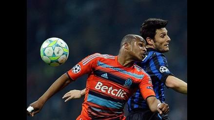 Repase lo mejor del Inter de Milán vs. Olympique de Marsella