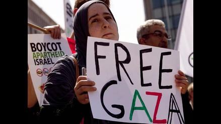 Israel y Palestina realizan un alto al fuego en medio de protestas