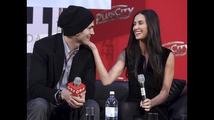 Demi Moore todavía sigue enamorada de Ashton Kutcher