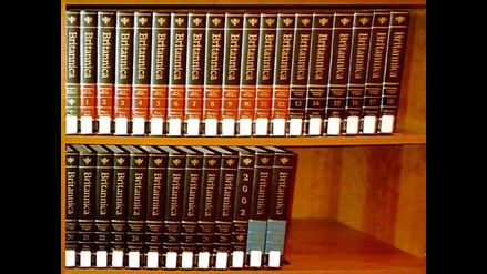 La Enciclopedia Británica deja de imprimirse en papel tras 244 años