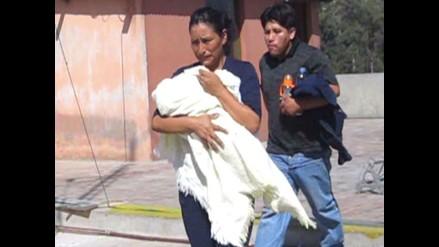 Arequipa: La pequeña Beatriz ya está en los brazos de sus padres