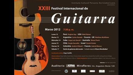XXIII Festival Internacional de Guitarra
